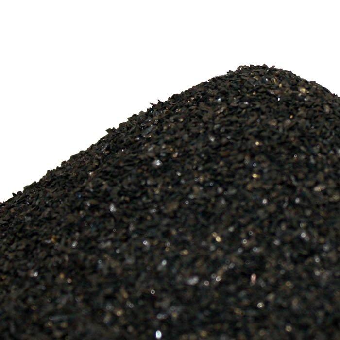 Close-up a pila de antracita
