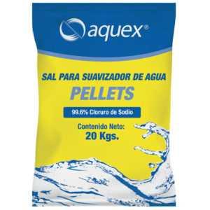 Saco sal Aquex 20kgs