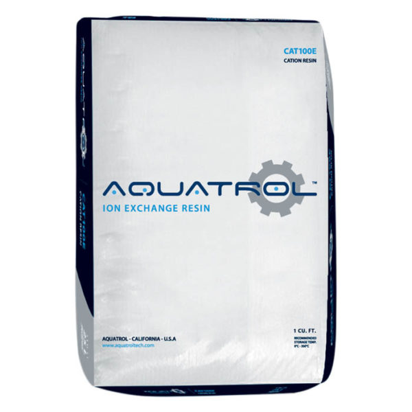 Resina de intercambio iónico Aquatrol CAT100E