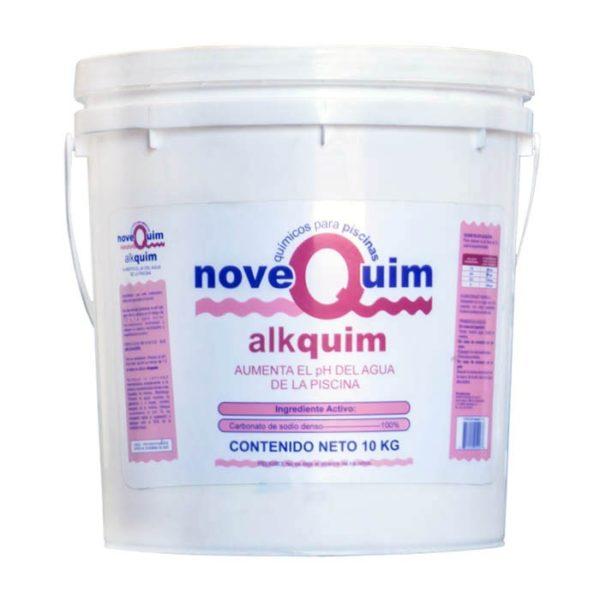 Alkquim para aumentar el pH del agua en albercas