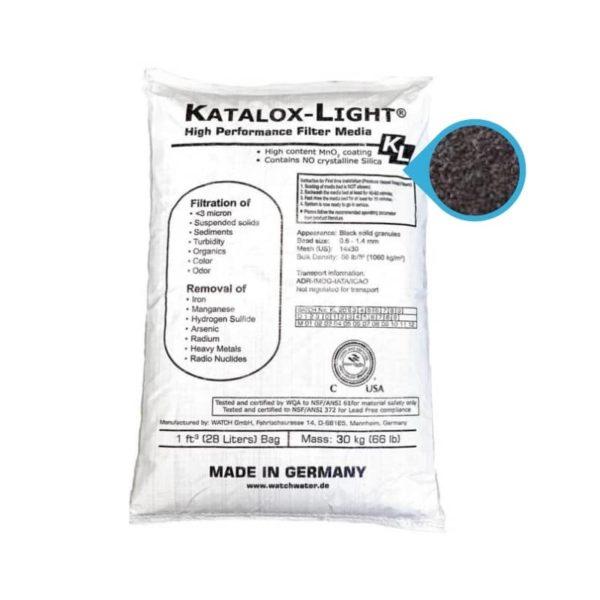 Katalox para eliminar fierro y manganeso del agua