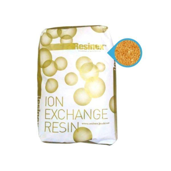 Resina para suavizadores de agua, resina resinex