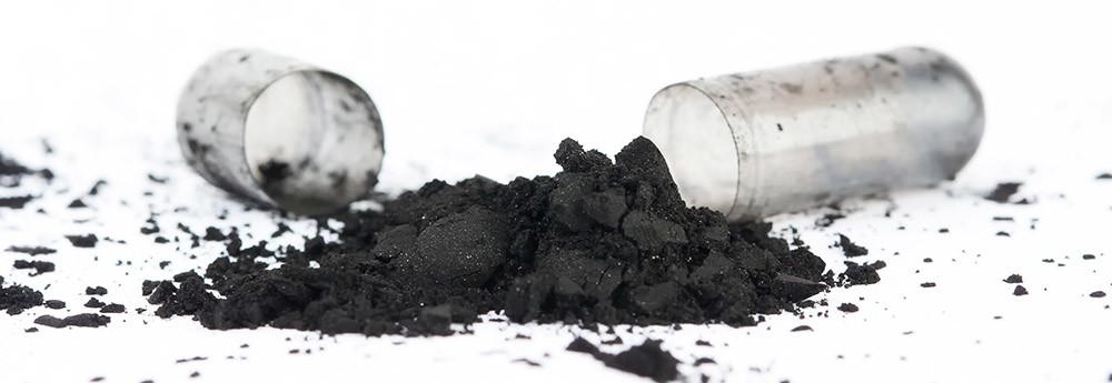 Carbón activado en capsulas