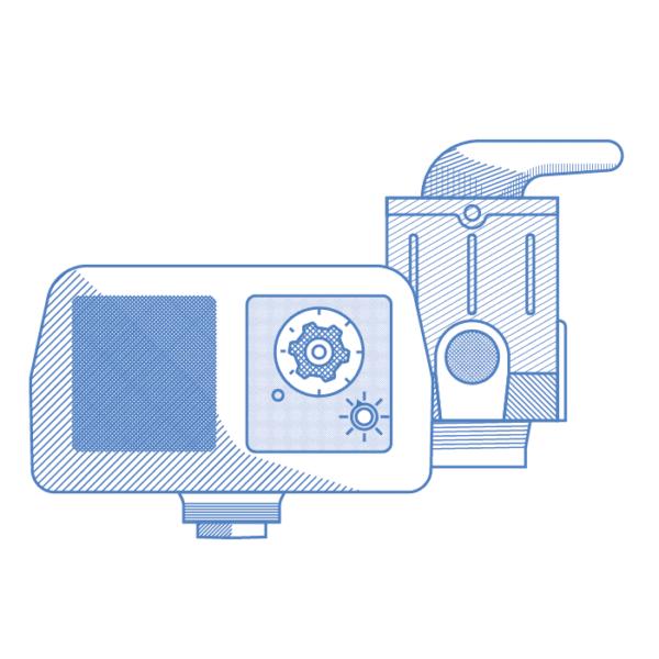 Válvulas para filtros y suavizadores