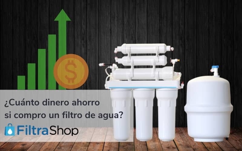 Ahorro en la compra de un filtro de agua, Costo de garrafones vs a filtro de agua